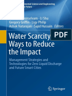 Water scarcity ways to reduce the impact