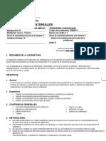 CONTENIDO CURSO MATERIALES