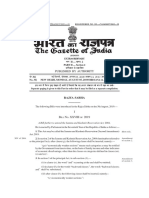 The Indian constitution application to Jammu&Kashmir Bill 2019