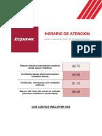 CostosServicios EFX Ecuador