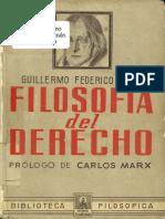 Hegel Georg - Filosofia Del Derecho.pdf