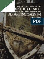CAPITULO ETNICO EN EL ACUERDO DE PAZ