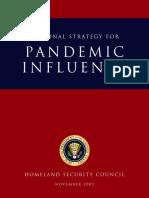 Pandemic Influenza Strategy US 2005