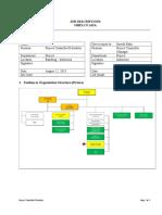 Job Desc Project Controll