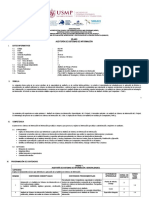 Sílabo Auditoría de Sistemas de Información 2019 I- II