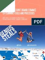 Genius Steals Presents Planning Tools and Processes