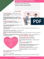 2010 02 Love, Marriage, Divorce Vocabulary