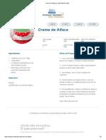 Creme de Alface _ Clube Bebé Nestlé
