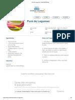 Puré de Legumes _ Clube Bebé Nestlé