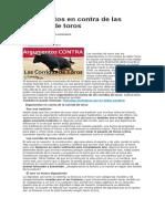 Argumentos en contra de las corridas de toros.docx