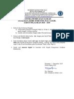 Kriteria Naskah PAS TP. 2018-2019