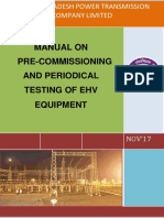 Manual on Pre-commissioning and Periodical Testing of Ehv Equipment-2