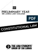 Constitutional Law English