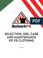 BulwarkFR SelectionUseCareMaintenance WP 010116