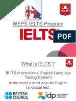 WEPS Ielts Program