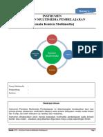Instrumen Penilaian Multimedia Pembelajaran (v.2.2)