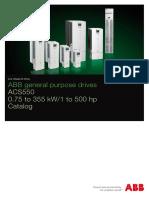 ACS550 Catalogue