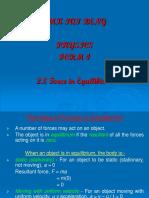 2.8 Forces in Equilibrium