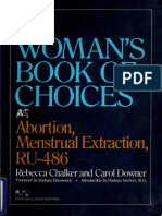 A Woman's Book of Choices PDF - Rebecca Chalker ( Abortion, Menstrual Extraction, RU-486)