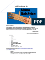 Materiales Mano Robotica