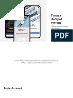 Tanaza Hotspot System