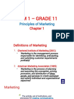 Principles of Marketing Chapter 1(1)