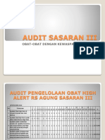Audit High Alert