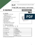 Relay datasheet