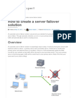 How to Create a Server Failover Solution - Expert How-To Guides