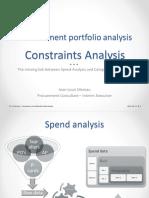 Constraints Analysis (JL Moreau - Proprietary)