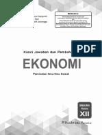 01 Kunci Pr Ekonomi 12 Edisi 2019