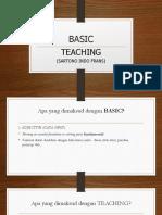Sartono Indo Frans Basic Teaching