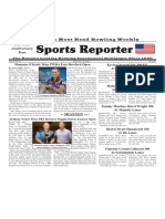 August 14 - 20, 2019  Sports Reporter