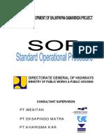 Standard Operational Procedure Balsam(Revision 2016 Sept 6)