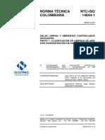 NTC-ISO 14644-1