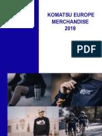 Merchandising Catalogue Komatsu