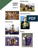 Lista de Costumbres de La Costa Del Perú