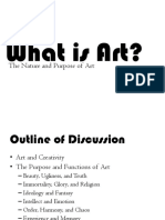Lecture 1 What is Art