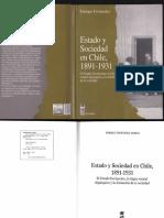 Estado y sociedad en Chile 1891 - 1931, Enrique Fernández
