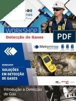 Treinamento Detecção de Gases