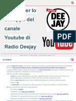 Radio Deejay su Youtube