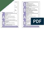 SBAR Cards