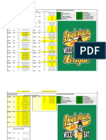 2019 wood bat schedule with scores