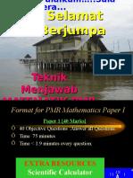 Ceramah Math Pmr 2010