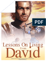Lessons On Living From David