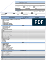 Check List Visual Manutenção