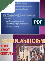 SCHOLASTICISM.ppt