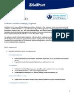 SailPoint Certified IdentityIQ Engineer Profile