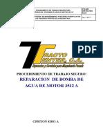 Pts 003 Reparacion de Bomba de Agua de Motor 3512 A