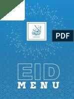 Lazaward Adha Eid Menu